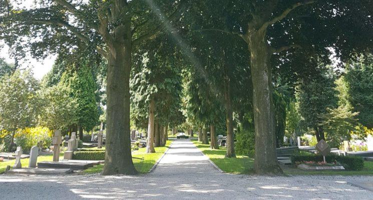 St. Barbara begraafplaats 100 jaar